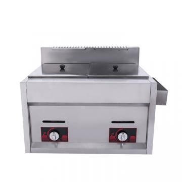 Cheap Commercial Gas Oil Double Cylinder Deep Fryer